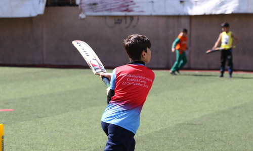 Cricket in Shatila!