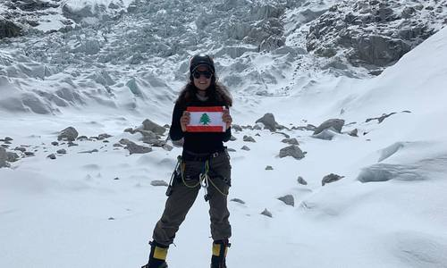 First Lebanese Woman to Climb Everest